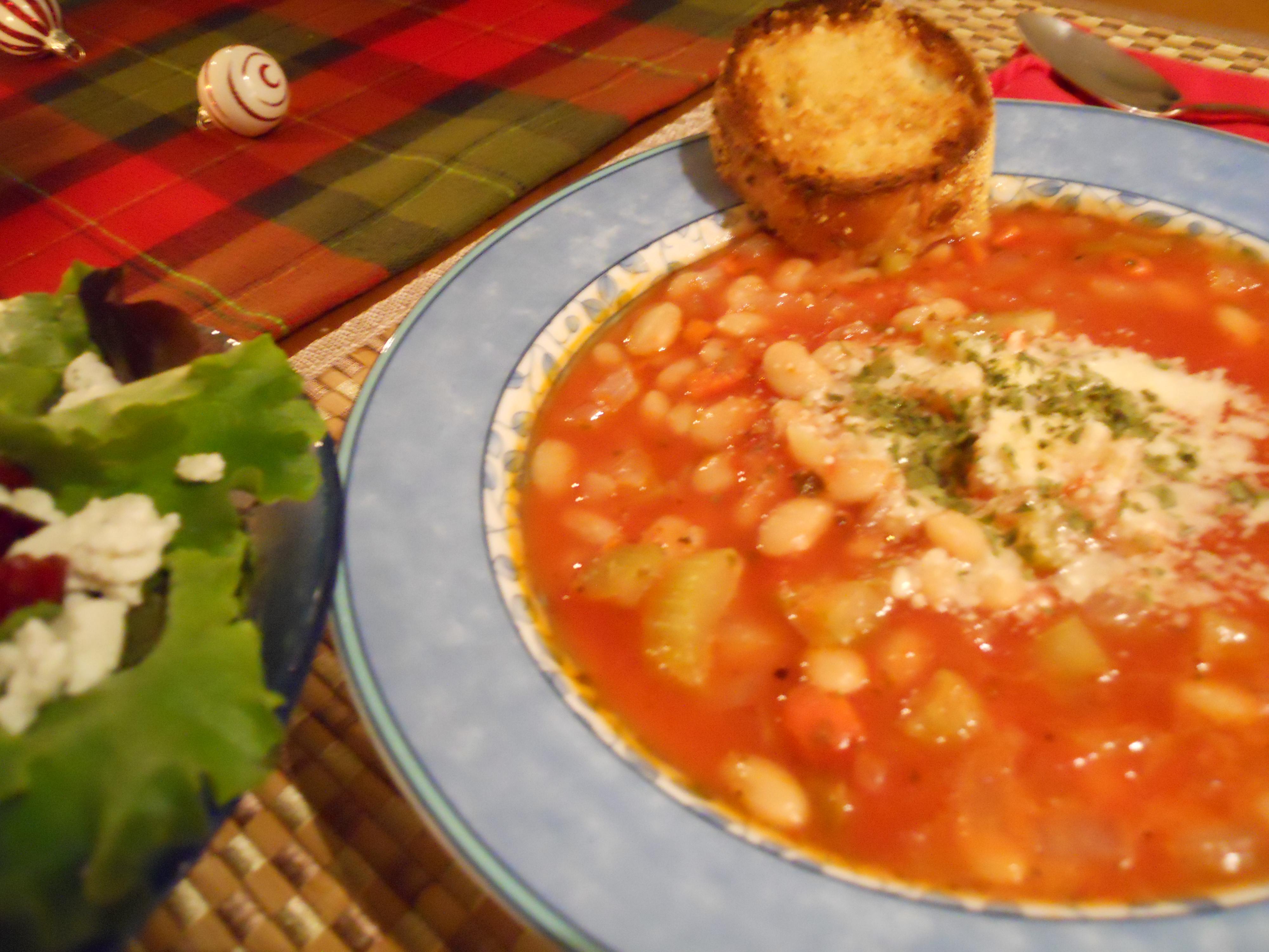 White Bean and No-Mushroom Stew